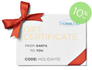 Gift Certificates 10% Off - Holiday 2017