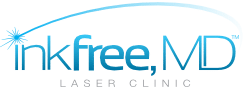 Inkfree, MD Laser Clinic Logo