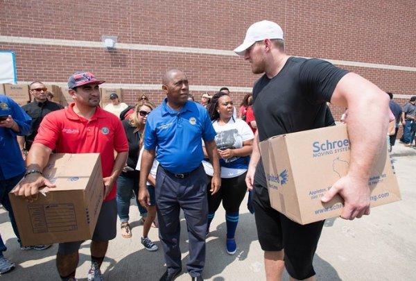 JJ Watt Foundation - Houston Harvey Flood Relief Fund