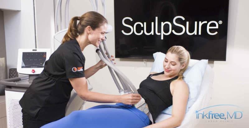 What is SculpSure body contouring?